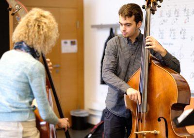 Bass-Unterricht