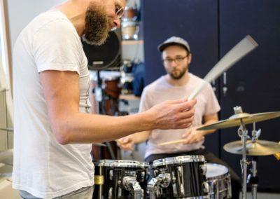 Schlagzeug-Unterricht