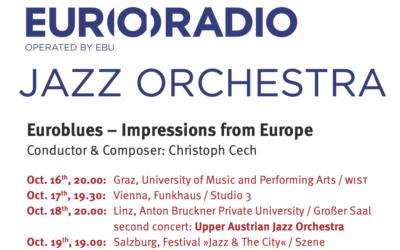 Ö1 Jazztag & EURORADIO Jazz Orchester 2019 in Wien aus Kollektion 2020
