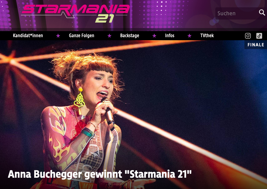 Anna Buchegger gewinnt Starmania 21 – Das ipop gratuliert herzlich!